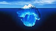 مدل کوه یخ
